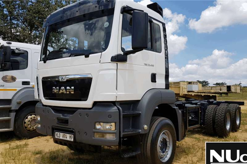 MAN Truck Chassis cab MAN TGS33 480 CHASSIS CAB 2014