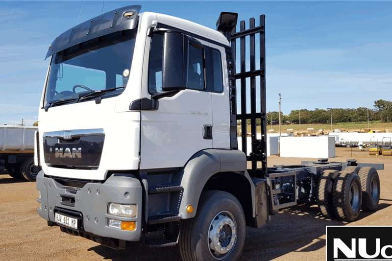 MAN Truck Chassis cab MAN TGS33 480 CHASSIS CAB