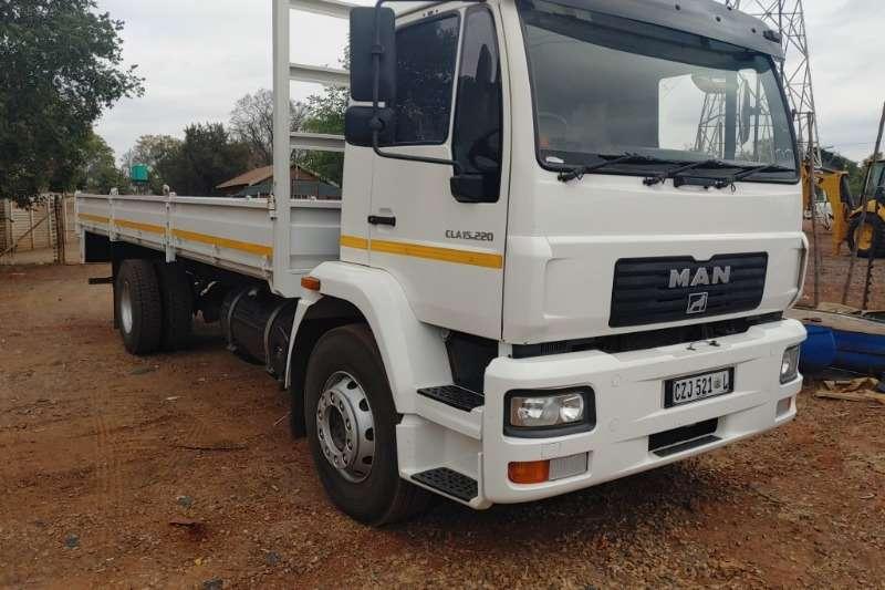 MAN Truck CLA 15.220 Dropside Body Truck 2013