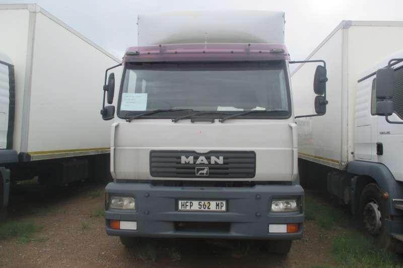 MAN Truck Closed body MAN TGM 18.280 Closed Body 2006