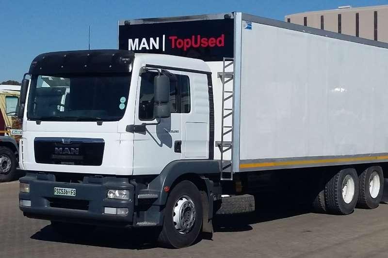 MAN Truck Closed body TGM25 280 BLS L 6X2 Vanbody 2015