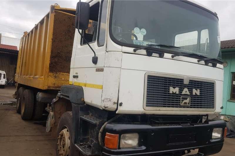 MAN Truck Compactor 26.252 Compavtor 1995
