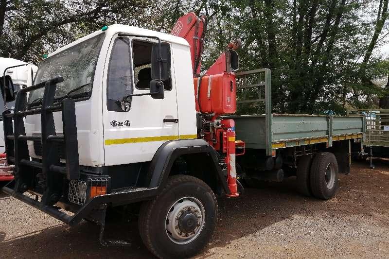 MAN Truck Crane truck man 4x4 dropside with fasicrane