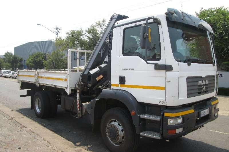 MAN Truck Crane Truck TGM 18-240 2008