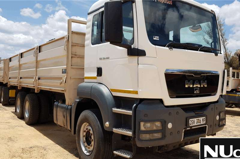 MAN Truck Dropside MAN TGS33 480 HIGH SIDE DROPSIDE WITH HIGH SIDE DR 2013
