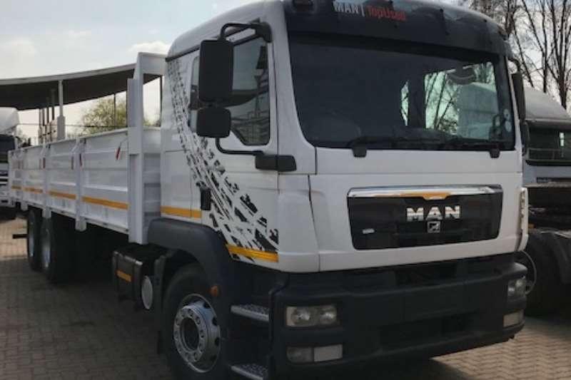 MAN Truck Dropside TGM 25 280 BL L 6X2 Dropside Volume sides 2014