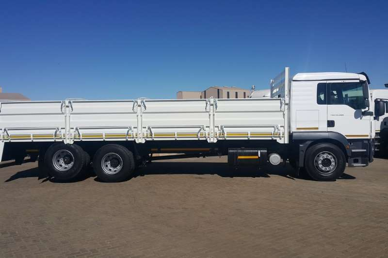 MAN Truck Dropside TGM 25 280 BLL 6x2 With Dropside 2014