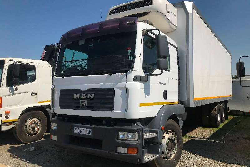 MAN Truck Fridge truck 2009 MAN TGM25 280 fridge truck 2009
