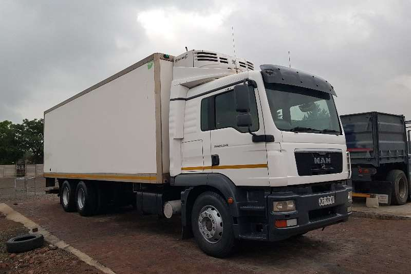 MAN Truck Fridge truck MAN TGS .25280 Fridge Truck 2010