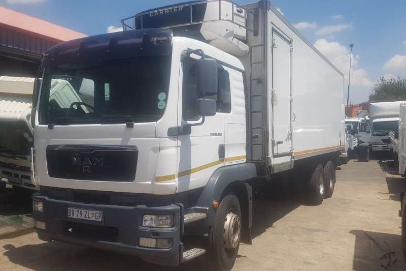 MAN Truck Fridge truck TGM 25 280 2012
