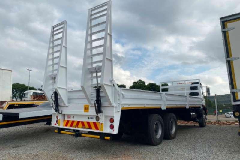 MAN Lowbed MAN CLA 26.280 6x4 36000 KMS dropside Truck