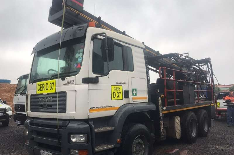 MAN Truck Man 27. 400 with super rock 1000 drill rig