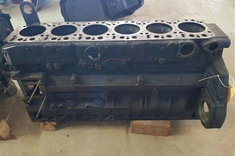 MAN Truck Man TGA D2876 Engine Block 2010