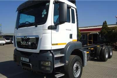 MAN MAN TGS 33.480 CHASSIS CAB RIGID #6640 Truck