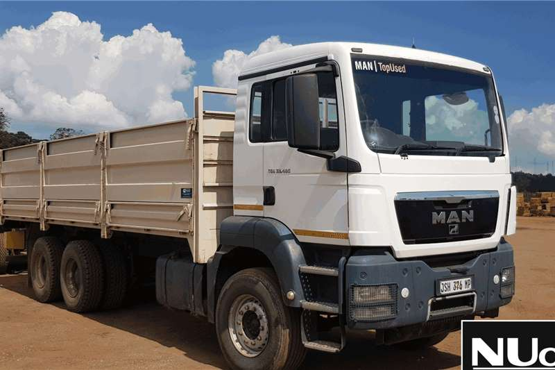 MAN Truck MAN TGS33 480 HIGH SIDE DROPSIDE 2013