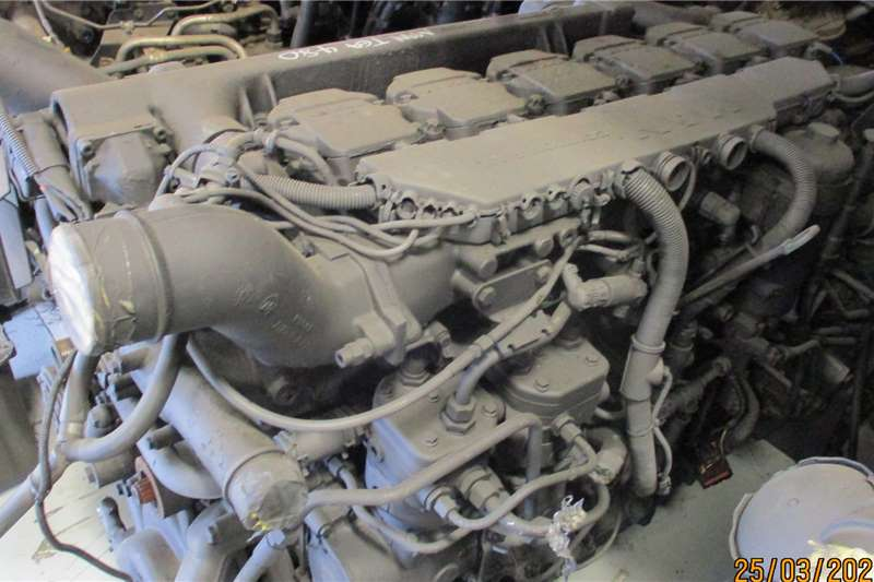 MAN TGA 480 ENGINE Truck spares and parts