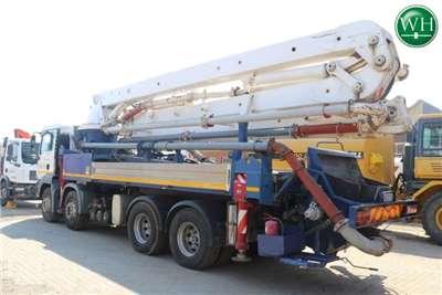 2009 MAN TGA 34 350 Concrete Pump Truck Truck for sale in