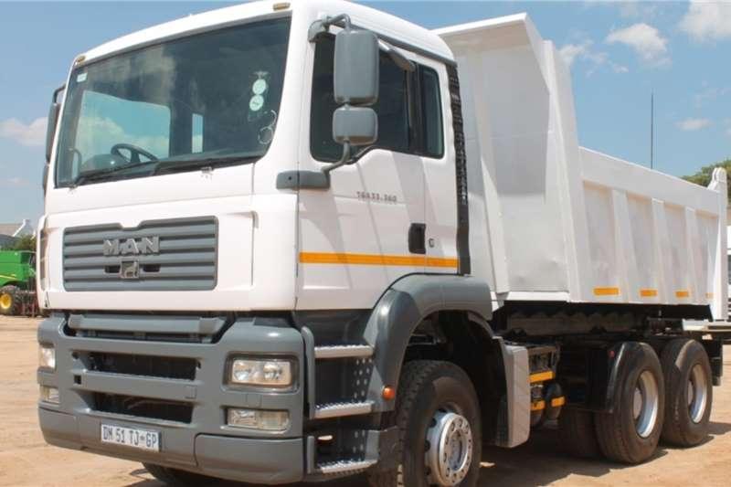 MAN Truck TGA33.360 6x4 10m3 Tipper 2007