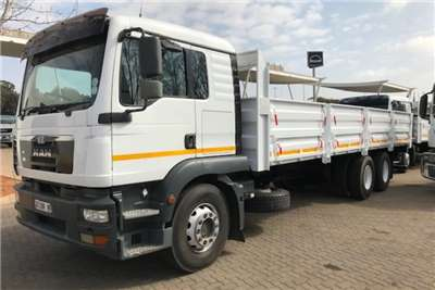 MAN TGM 25 280 BL L 6X2 Dropside Volume sides Truck