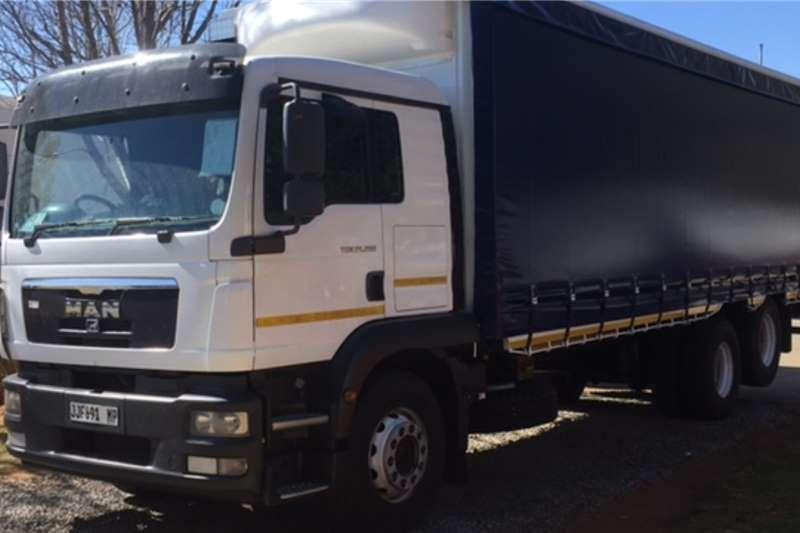 MAN Truck TGM 25 280 BL L 6X2 with Curtain Side 2015