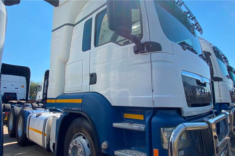 MAN TGS 26   440 Double Diff Truck