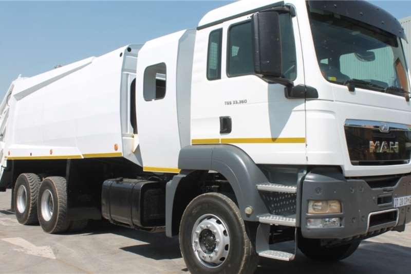 MAN Truck TGS 33.360 6x4 Compactor Truck