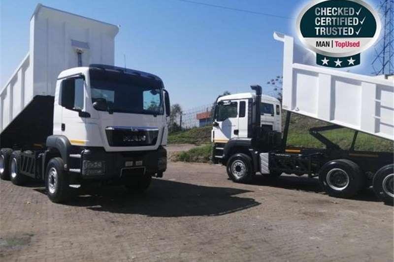 MAN TGS 33 480 BB M WB4500 + 14CUBE TIPPER BODY Truck