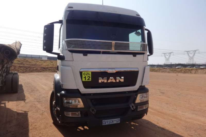 MAN Truck TGS27.480 6x4 Mechanical Horse 2013
