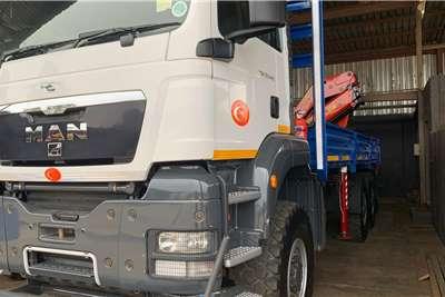MAN TGS33 440 d s (14t) (36.5t) P/finger Crane (View) Truck