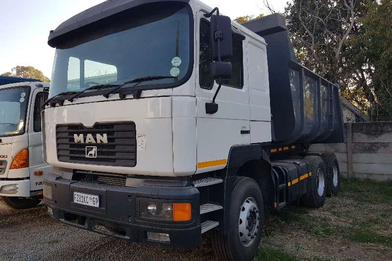 MAN Truck Tipper 2004 Man 26 414 10M3 Tipper 2004