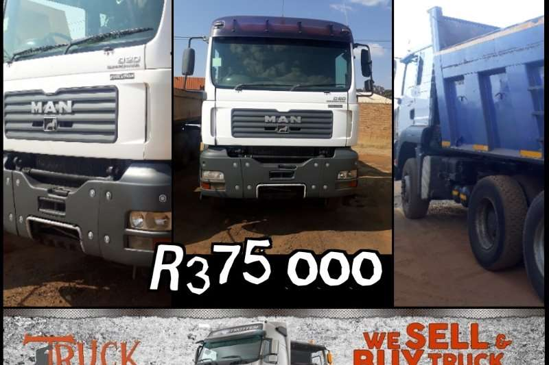 MAN Truck Tipper 33 360 10 m 3 tipper