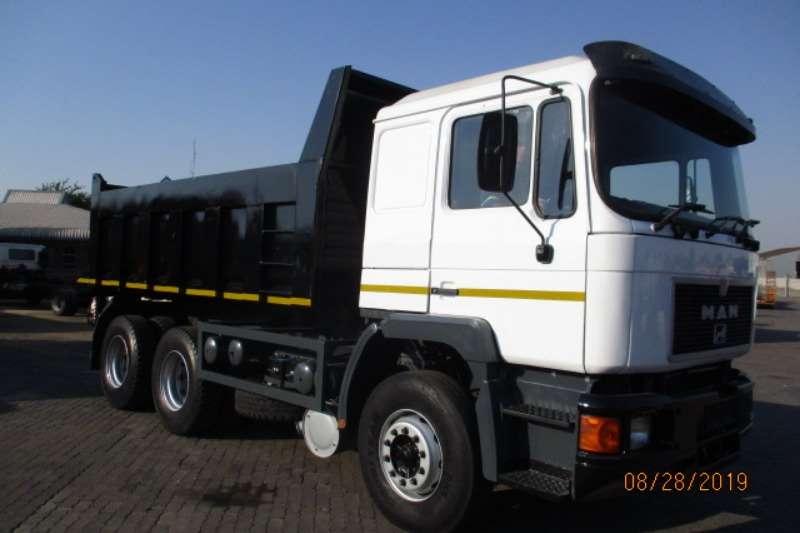 MAN Truck Tipper MAN 10 CUBE TIPPER 1994