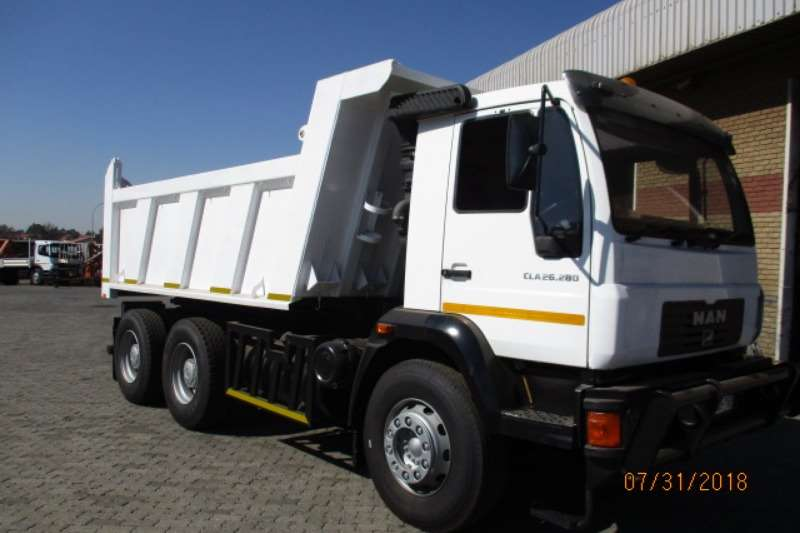 MAN Truck Tipper MAN CLA 26 280 TIPPER 2016
