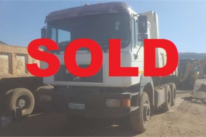 MAN Truck Tipper MAN F2000, 10m3 Tipper, SOLD 2001