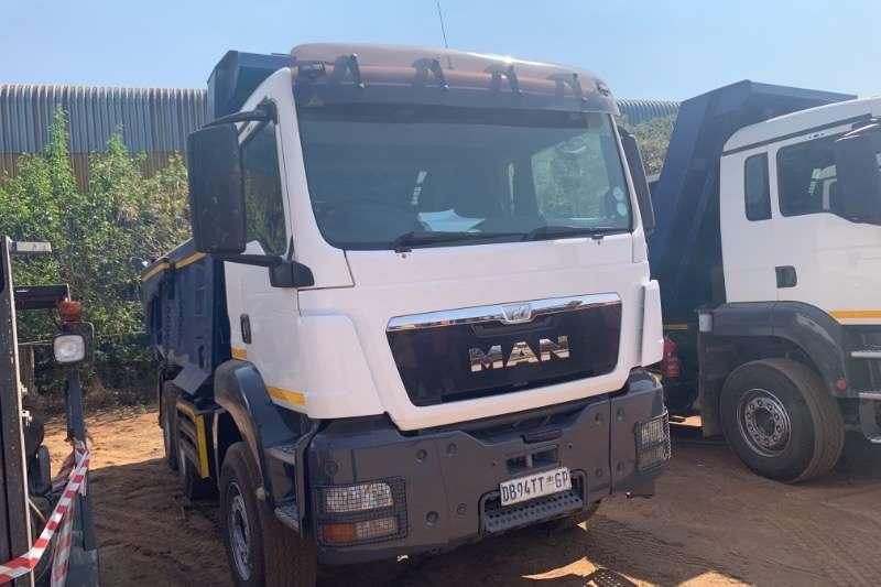 MAN Truck Tipping body 33 360 10 CUBE 2014