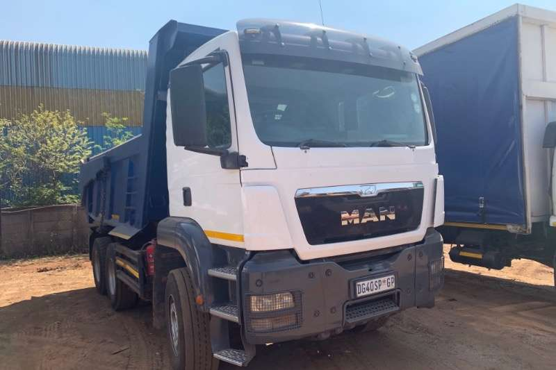 MAN Truck Tipping body 33 360 10 CUBE 2014