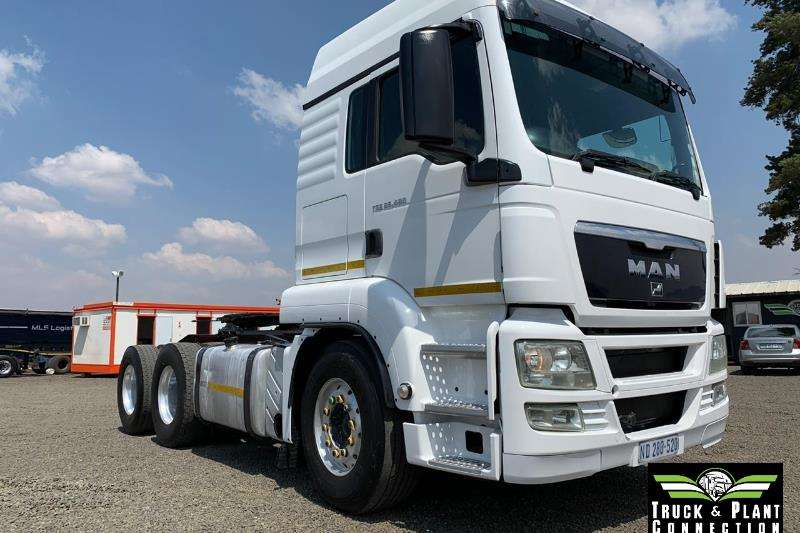 MAN Truck-Tractor Double Axle 2011 MAN TGS 26-480 2011