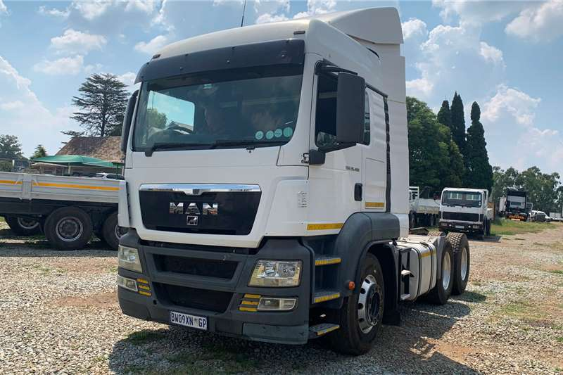 MAN Truck-Tractor Double Axle 2012 Man TGS 26.480 2012