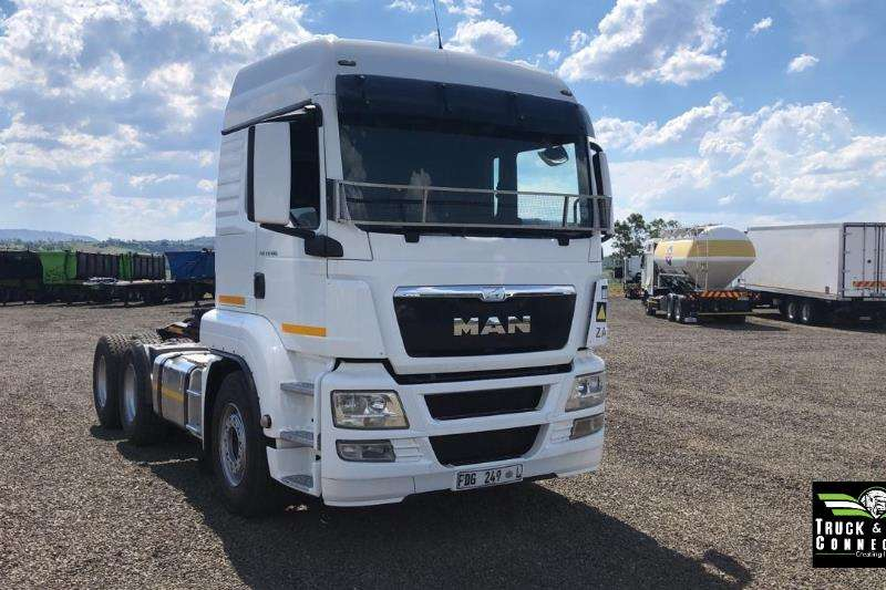 MAN Truck-Tractor Double Axle 2014 MAN TGS 27-480 2014