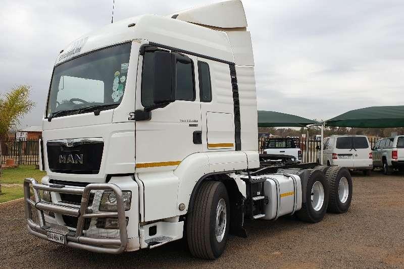 MAN Truck-Tractor Double Axle Effiecentline TGS 26.480 2016