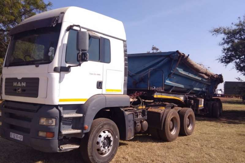 MAN Truck-Tractor Double axle MAN TRUCK TGA 33.480 2008
