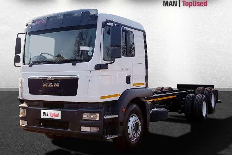 MAN Truck-Tractor Double axle TGM 25 280 BL L 6X2 2015