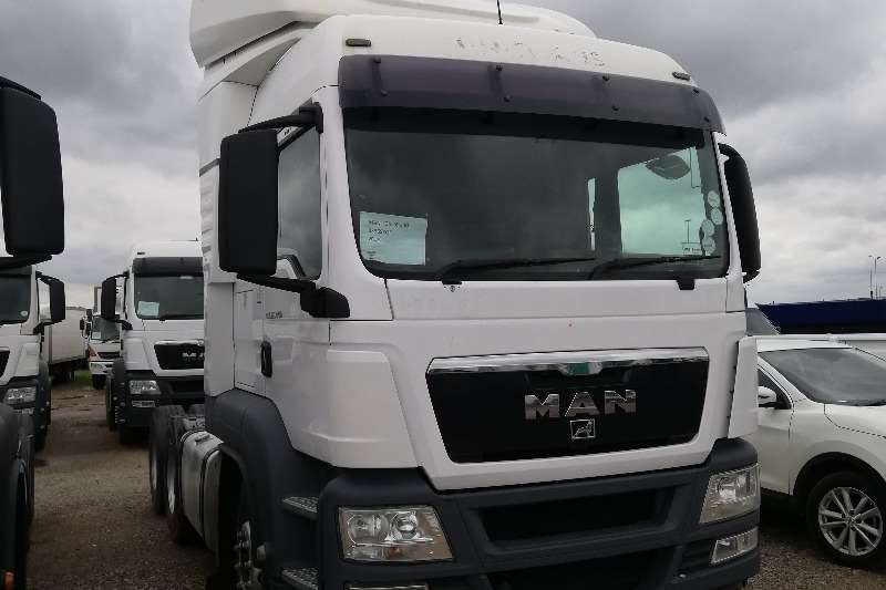 MAN Truck-Tractor Double Axle TGS 12,440 2012