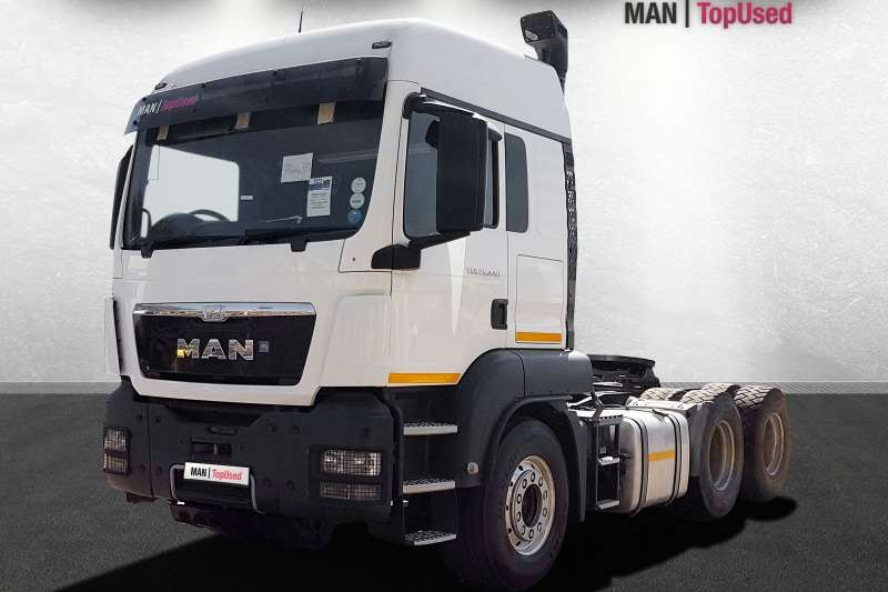 MAN Truck-Tractor Double axle TGS 26.440 BLS LX 2015