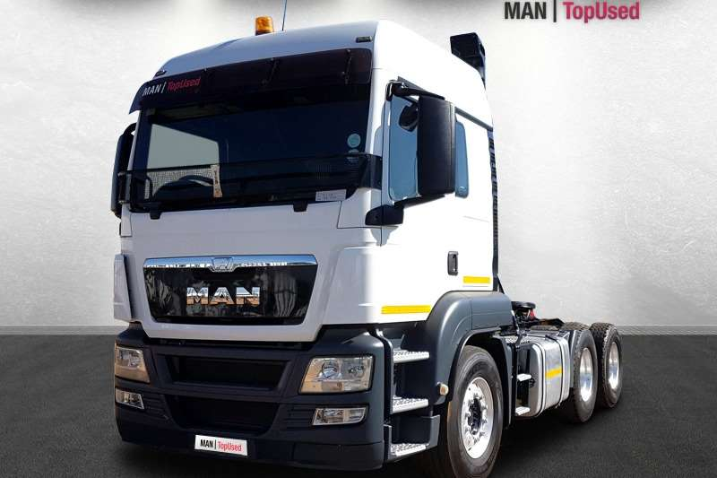 MAN Truck-Tractor Double axle TGS 26 440 BLS LX 6X4 2015