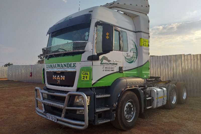 MAN Truck-Tractor Double axle TGS 26.480 2010