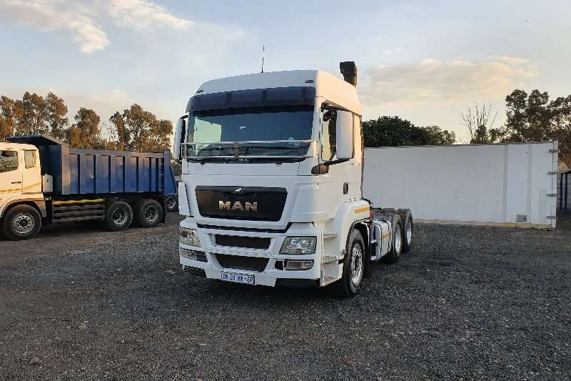 MAN Truck-Tractor Double axle TGS 26.480 + hydraulics 2015