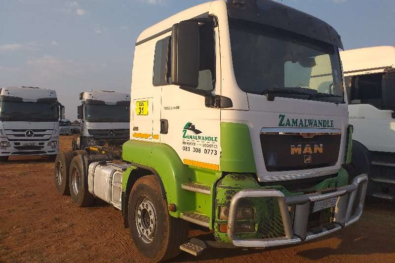 MAN Truck-Tractor Double axle TGS 27.440 2012