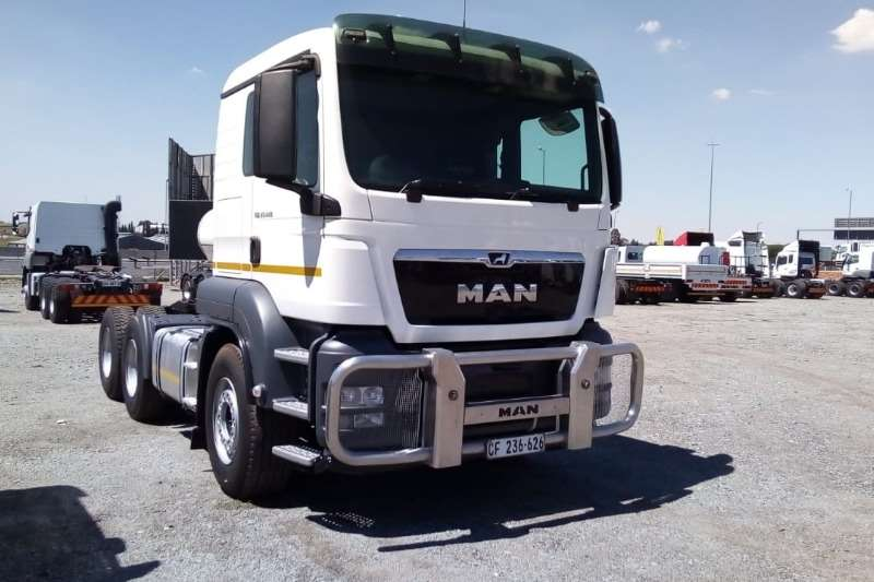 MAN Truck-Tractor Double Axle TGS 27.440 6x4 Truck Tractor 2017