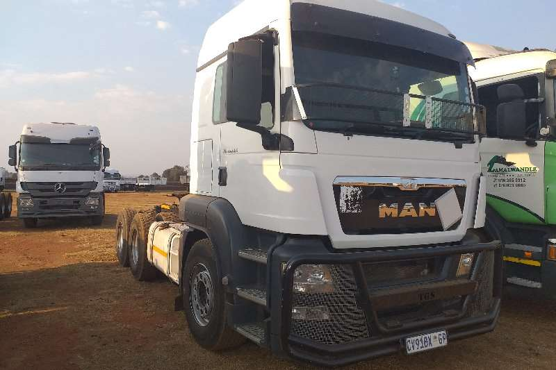 MAN Truck-Tractor Double axle TGS 27.480 2013